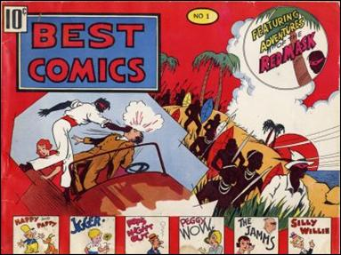 Best Comics 1-A by Better Publications