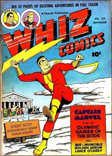 Whiz Comics 125-A by Fawcett