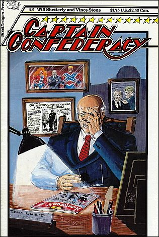 Captain Confederacy (1986) 8-A by SteelDragon Press