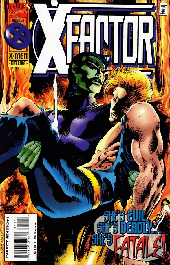 X-Factor (1986) 113-A by Marvel