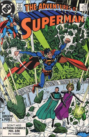 Adventures of Superman (1987) 461-A by DC
