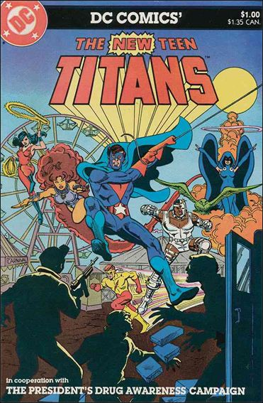 New Teen Titans: Drug Awareness 1-A by DC