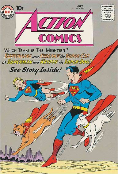 Action Comics (1938) 266-A by DC