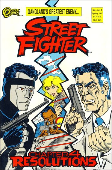 Street Fighter (1986) 4-A by Ocean Comics
