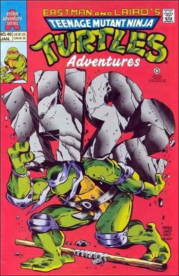Teenage Mutant Ninja Turtles Adventures (1989) 40-A by Archie