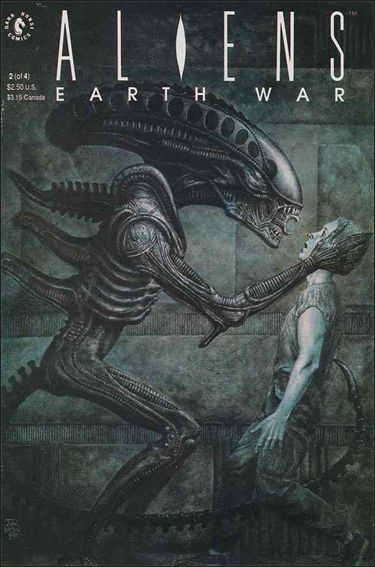 Aliens: Earth War 2-A by Dark Horse