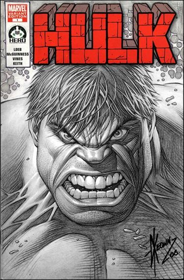 Hulk 100 (Hero Initiative) Cover Project 1-A by Marvel