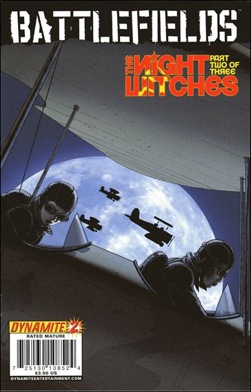 Battlefields: The Night Witches 2-A by Dynamite Entertainment