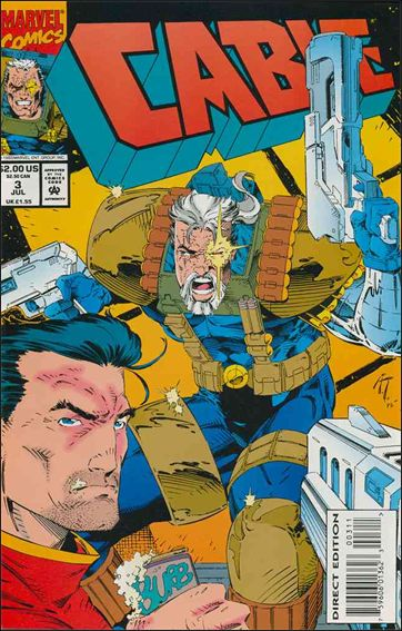 Cable (1993) 3-A by Marvel