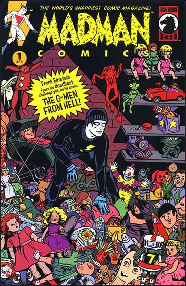 Madman Comics 17-A by Dark Horse