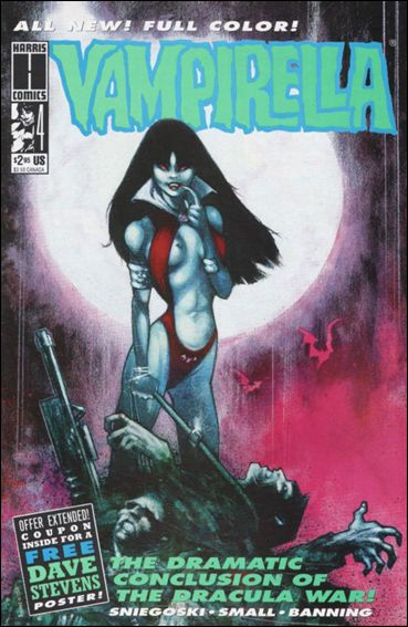 Vampirella (1992) 4-A by Harris