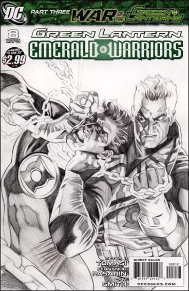 Green Lantern: Emerald Warriors 8-C by DC
