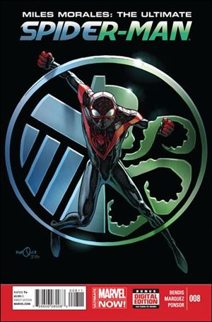 Miles Morales: Ultimate Spider-Man 8-A