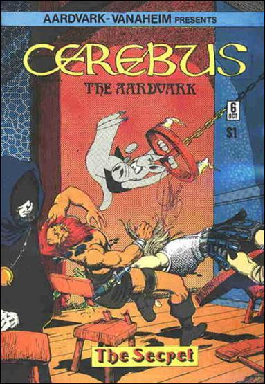 Cerebus 6-A by Aardvark-Vanaheim