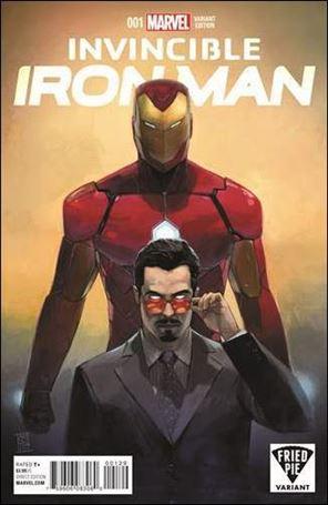 Invincible Iron Man (2015)  1-YA