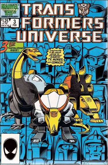 Transformers Universe (1986) 3-A by Marvel