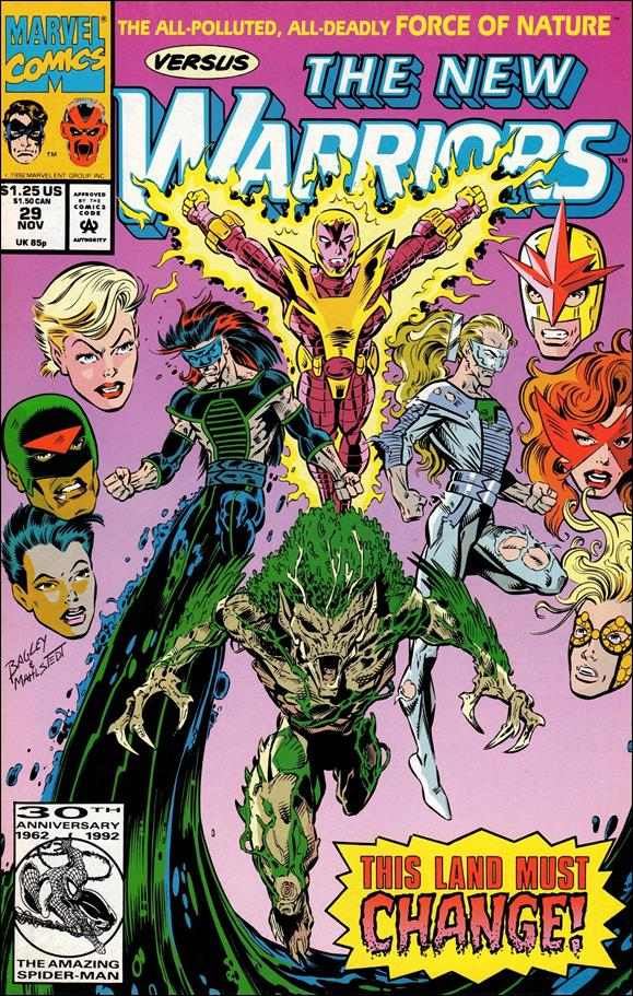 New Warriors (1990) 29-A by Marvel