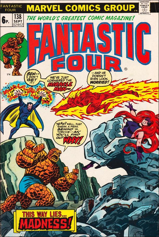 Fantastic Four (1961) 138-B by Marvel
