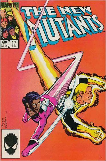 New Mutants (1983) 17-A by Marvel