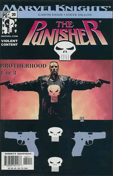 Punisher (2001) 20-A by Marvel