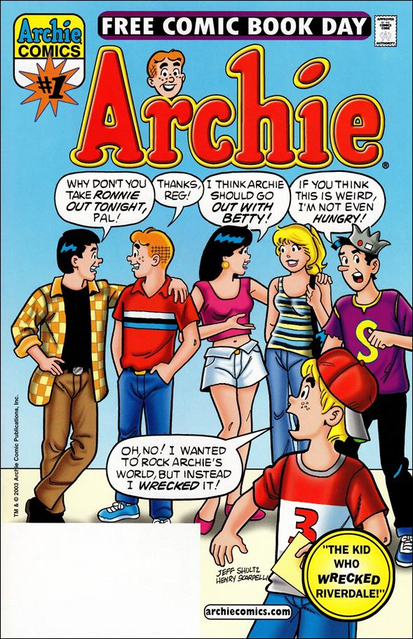 Archie, Free Comic Book Day Edition 1-A by Archie