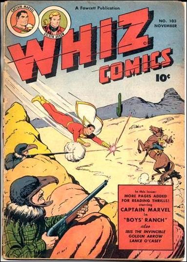 Whiz Comics 103-A by Fawcett