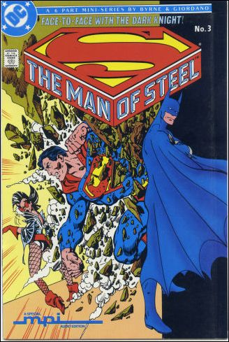Man of Steel 3-B by DC
