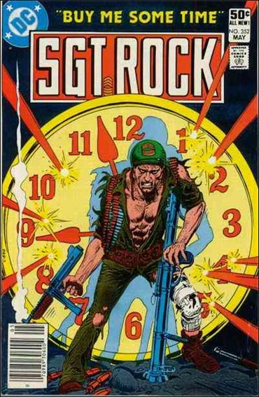 Sgt. Rock (1977) 352-A by DC