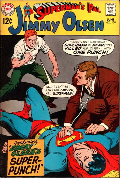 Superman's Pal Jimmy Olsen 120-A by DC