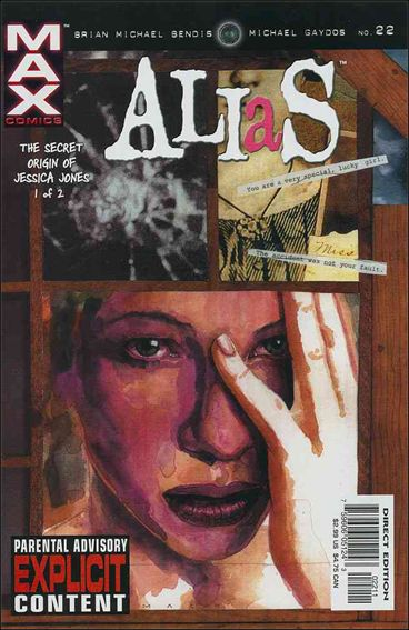 Alias (2001) 22-A by Max
