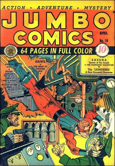 Jumbo Comics (1938) 14-A by Fiction House Magazines