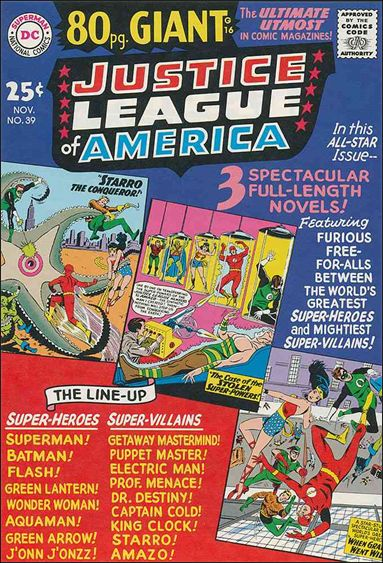Justice League of America (1960) 39-A by DC