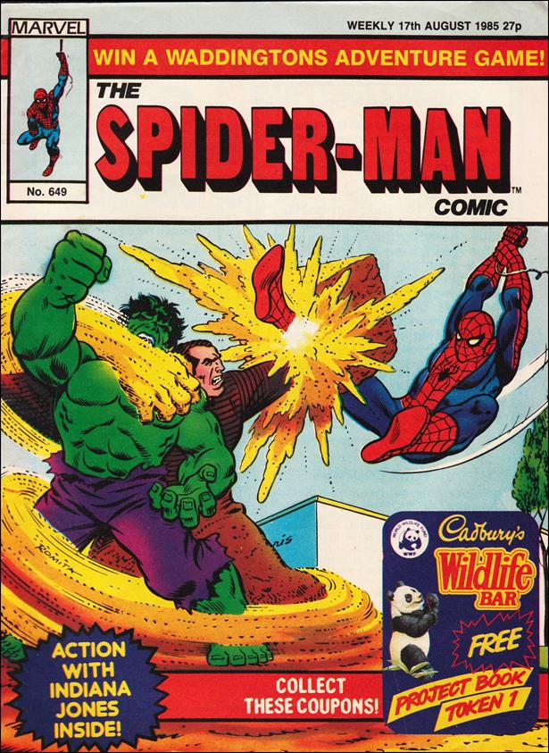 Spider-Man: Comics Weekly (UK) 649-A by Marvel UK