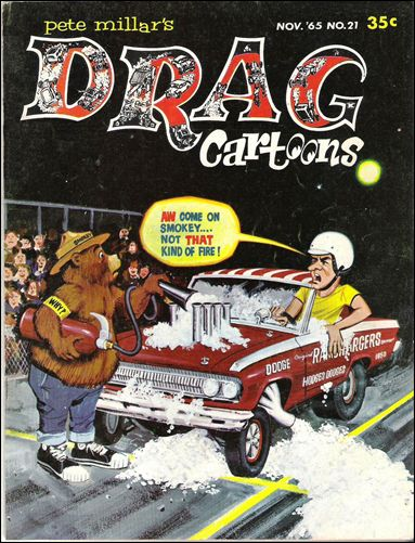 Drag Cartoons (1963) 21-A by Millar