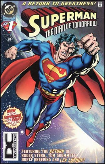 Superman: The Man of Tomorrow 1-B by DC