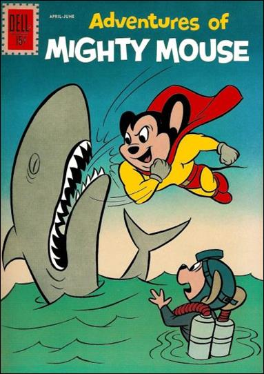 Adventures of Mighty Mouse (1959) 154-A by Dell
