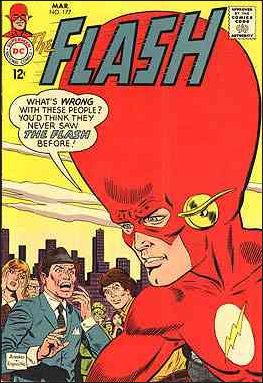 Flash (1959) 177-A by DC