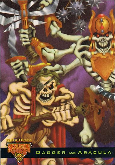 Fleer Ultra Skeleton Warriors (Lumabone Subset) Three-A by Fleer