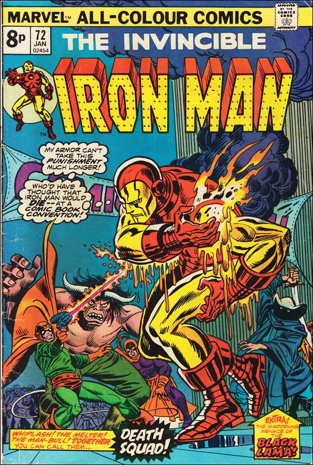 Iron Man (1968) 72-B by Marvel