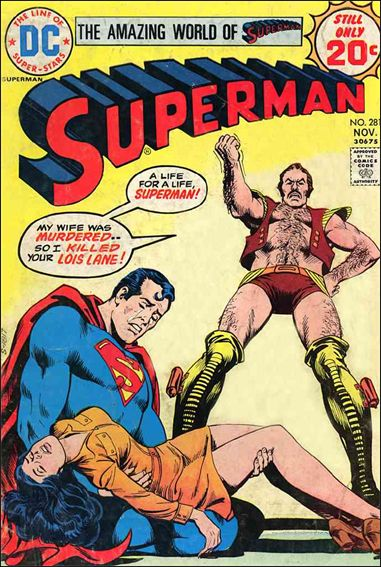 Superman (1939) 281-A by DC