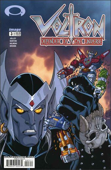 Voltron: Defender of the Universe (2003) 3-A by Image
