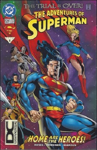 Adventures of Superman (1987) 531-B by DC