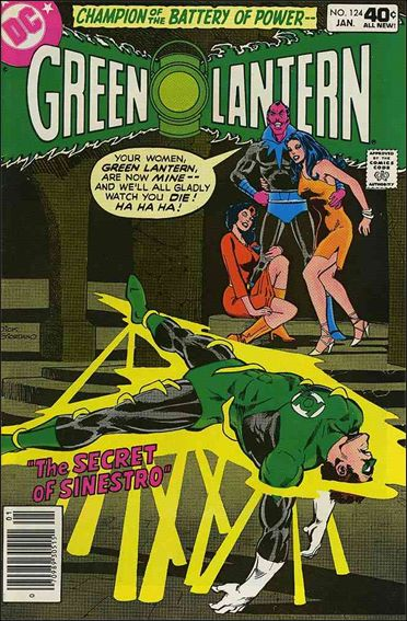 Green Lantern (1960) 124-A by DC