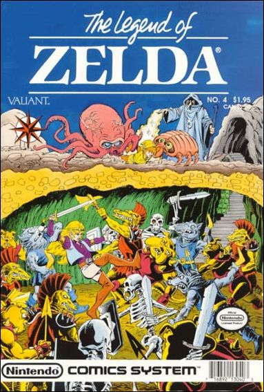 The Legend of Zelda (1990) 4-A by Valiant