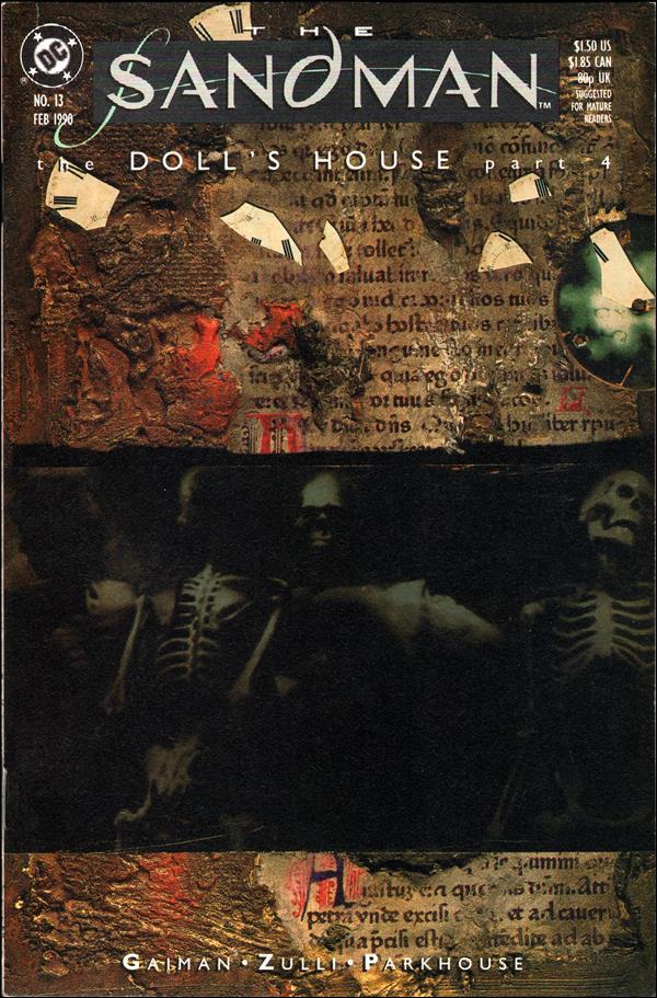 Sandman (1989) 13-A by Vertigo