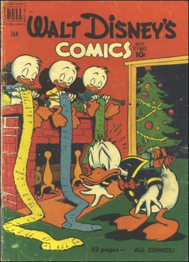 Walt Disney's Comics and Stories (1940) 124-A by Dell