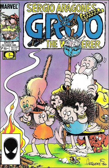 Sergio Aragones Groo the Wanderer 20-A by Epic