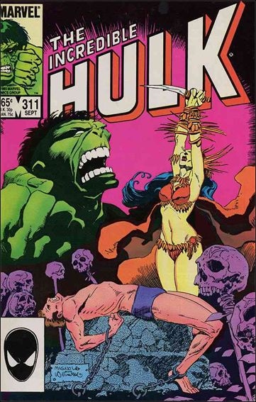 Incredible Hulk (1968) 311-A by Marvel