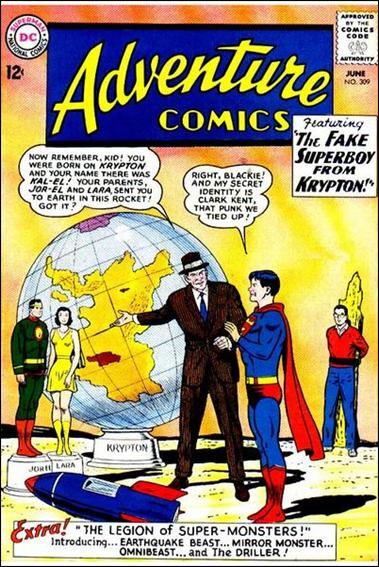 Adventure Comics (1938) 309-A by DC