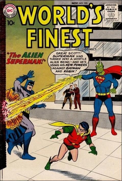 World's Finest Comics 105-A by DC